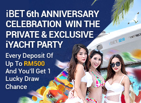 iBET 6th Anniversary Celebration Win The Private & Exclusive iYACHT PARTY