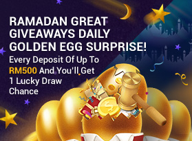 Ramadan Great Giveaways, Daily Golden Egg Surprise!